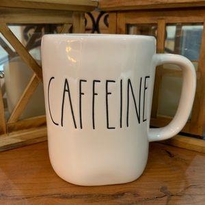 Rae Dunn Caffeine Large Letter Mug